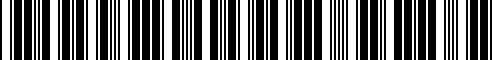 Barcode for 98756123703