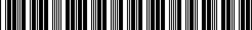Barcode for 93033223200