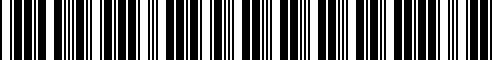 Barcode for WAP0800040C