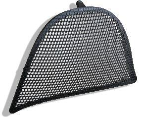 Wind deflector Black/ Driver side