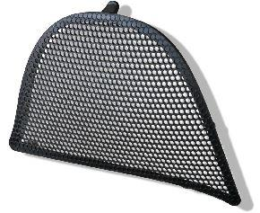 Wind deflector Black / Passenger side