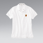 Porsche Crest polo shirt. - White