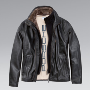 Men's leather jacket.