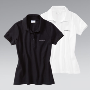 Women's polo shirt. - White