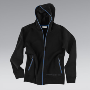 Men's sweatshirt jacket.