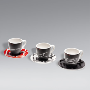 Espresso cups, set of 3 - Racing.