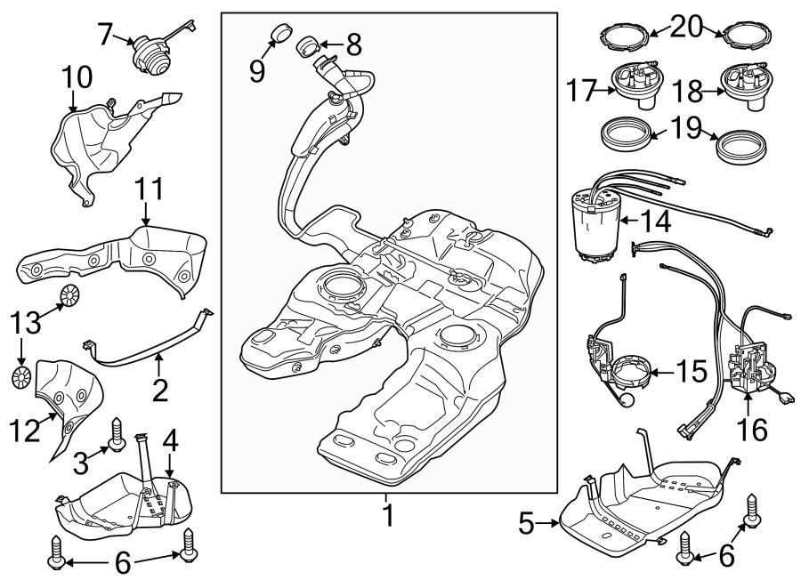 Porsche Cayenne Fuel Pump  Venturi  Assy