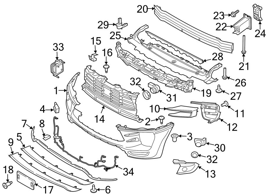 Porsche Macan Combination screw - WHT007484   Porsche ...