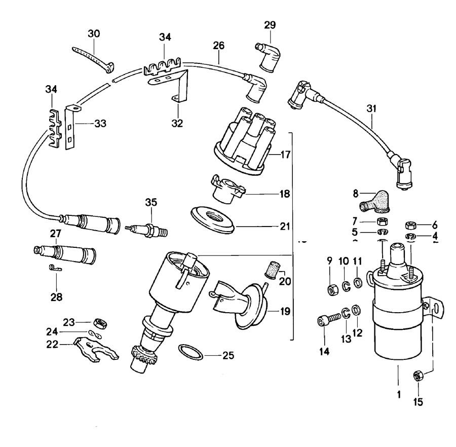 Porsche 924 Ignition Vacuum Unit