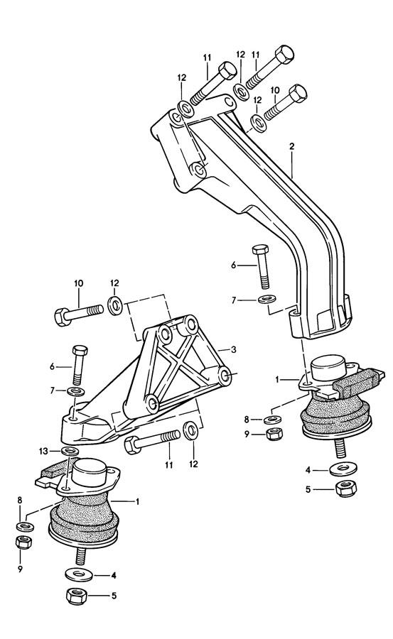 Porsche 944 Lock Nut  Locking Nut