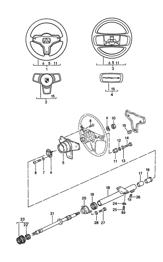 113415511 Porsche Needle Roller Bearing Needle Bearing