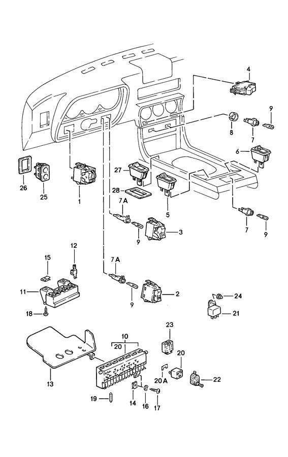 99361522701 - porsche relay fuel pump for