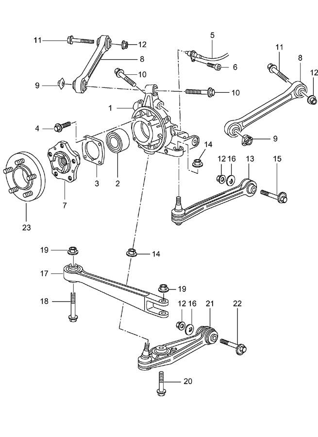 1999 porsche hexagon-head bolt combination screw  bolt hex-hd  ride