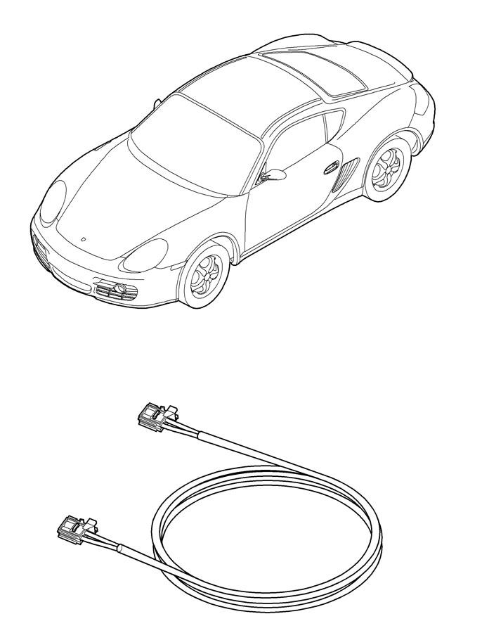 Porsche Cayman Optical Fibre Harne  Waveguide