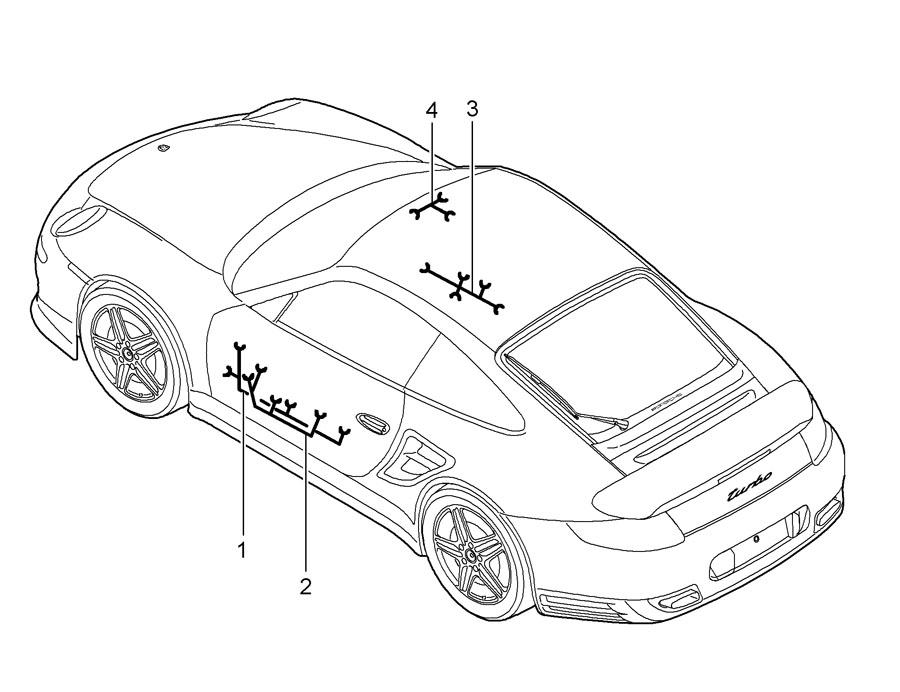 Porsche 911 R - kit cable loom - 99761264205 | Porsche ...