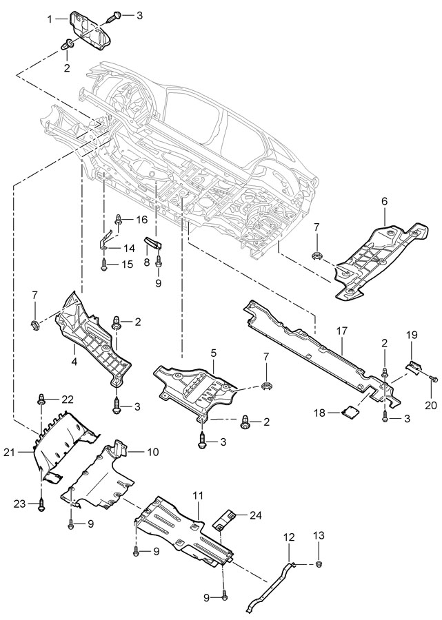 Porsche Cayenne Jacking Point Cover  Jack Socket