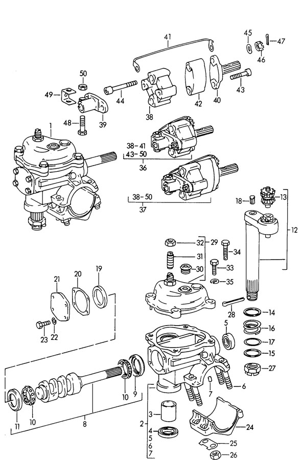 1964 Porsche 356b  356c Steering Coupling Not For