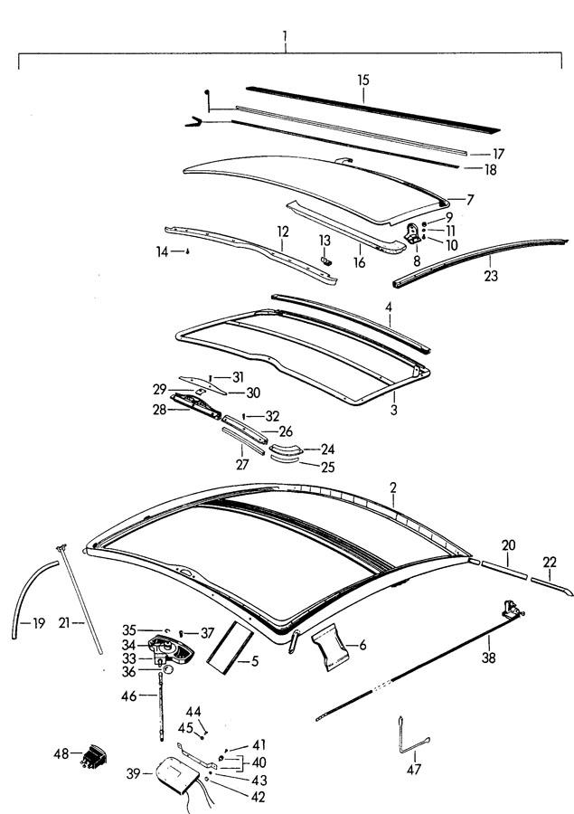 Porsche 356b  356c Screw 3 9 X 9 5  Mechanical