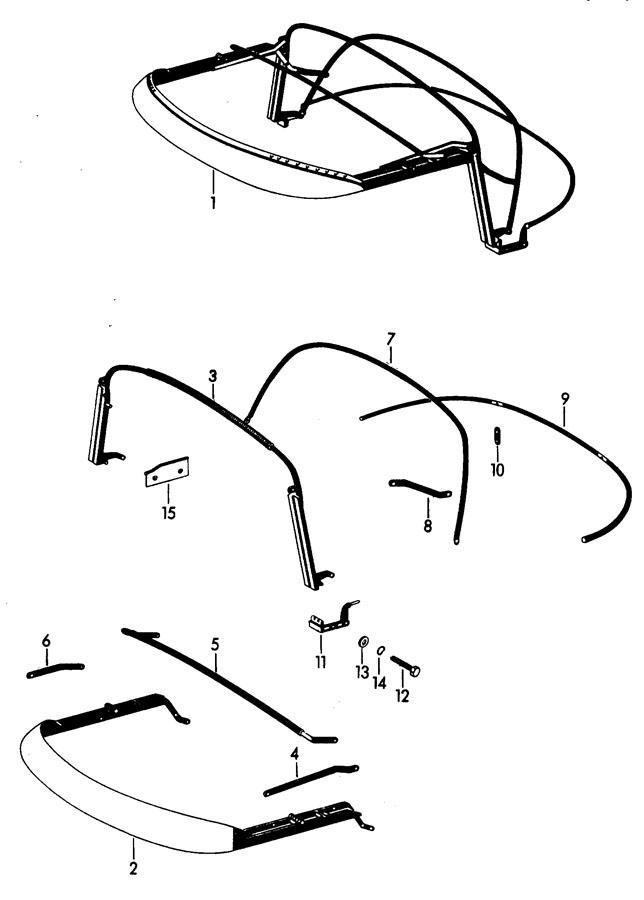 Porsche 356b  356c Lock Washer  Recirculation
