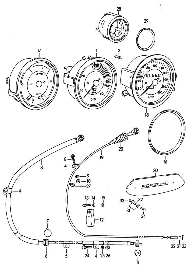 Porsche 356b  356c Suspension Strap  Actuating  Mechanical  Acabrio