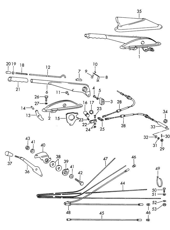 Porsche handbrake heating actuator